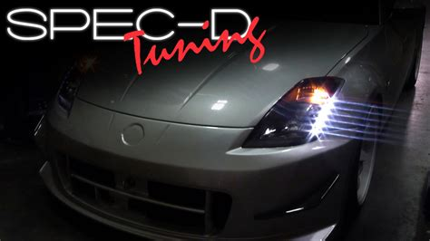 devil 350z specdtuning installation video 2003 2005 nissan 350z