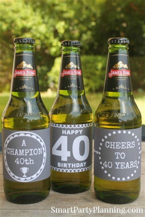 birthday beer wine printable labels