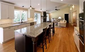 Idee deco cuisine ouverte ilot central ideeco for Idee deco cuisine avec devis cuisine