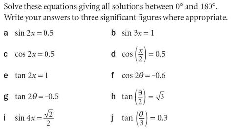 Solving Trig Equations By Factoring Answers Tessshebaylo