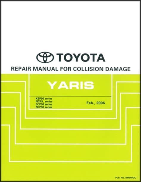 2007 2011 toyota yaris hatchback body collision repair