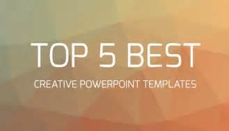 design fã r powerpoint top 5 best creative powerpoint templates