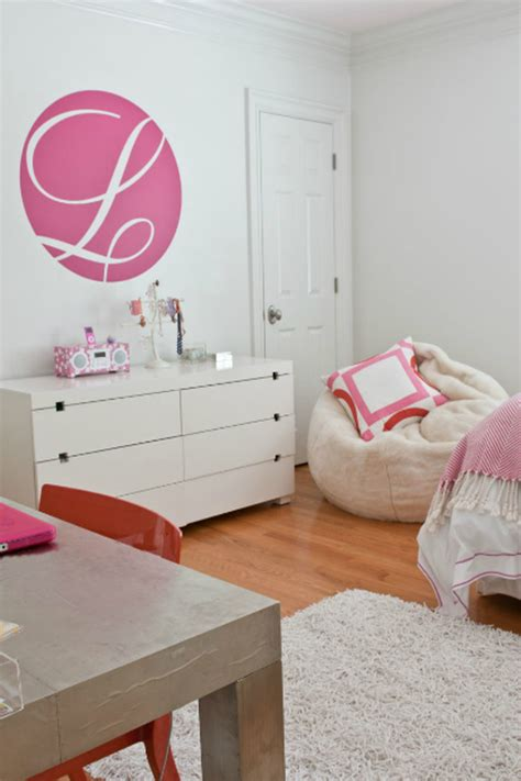 Modern Girls Bedroom With Pink And Orange  Simplified Bee
