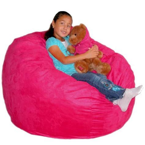cozy sack 3 bean bag chair medium pink