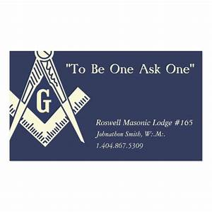 Masonic business card templates bizcardstudio for Masonic business cards free