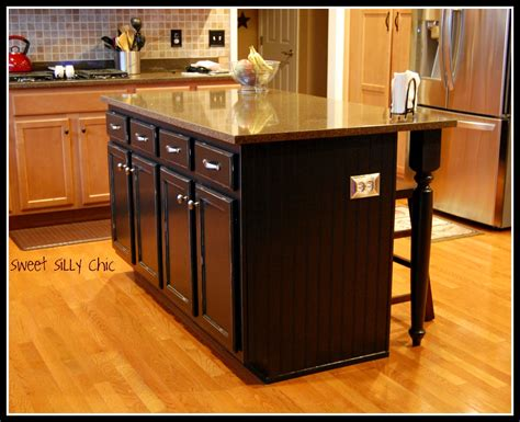 how to make a kitchen island out of base cabinets woodwork building a kitchen island with ikea cabinets