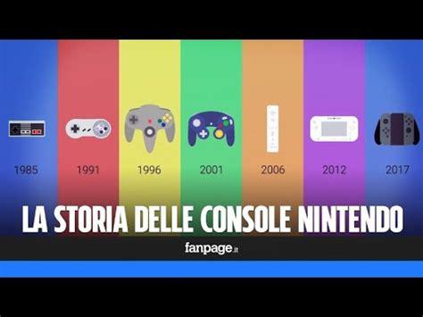 Tutte Le Console Nintendo by L Evoluzione Delle Console Nintendo