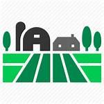 Farm Icon Barn Land Countryside Storehouse Villa