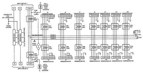 figure fo 1 power distribution panel schematic diagram