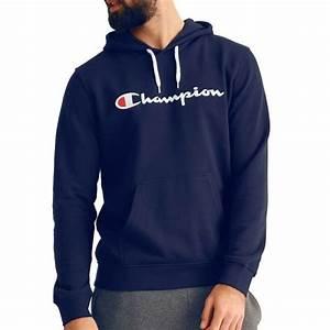 T Shirt Champion Homme : sweat champion homme s7h7c9p044 bleu marine bleu bleu ~ Carolinahurricanesstore.com Idées de Décoration
