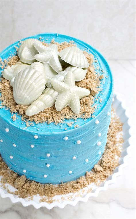 How To Make A Beach Themed Cake