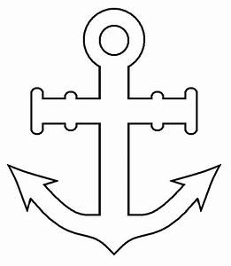 Anchor Outline - ClipArt Best