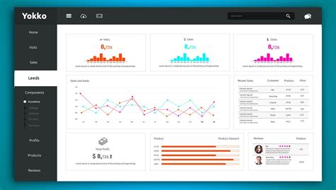 Templete Free by Free Dashboard Ui Design Psd Css Author