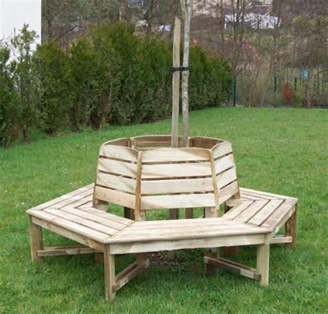 banc  darbre mobilier de jardin en bois  flbc