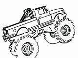 Digger Coloring Grave Monster Truck Printable Getcolorings sketch template