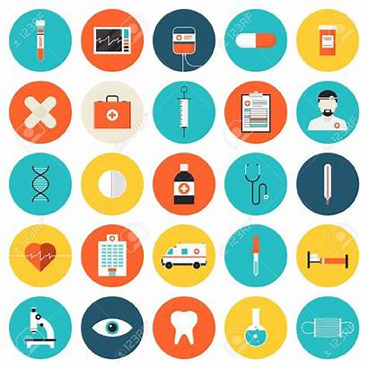 Icon Medical Icons Healthcare Health Flat Vector