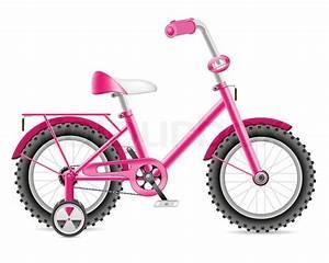 Kinder Fahrrad Mädchen : kinder fahrrad f r ein m dchen vektorgrafik colourbox ~ Orissabook.com Haus und Dekorationen