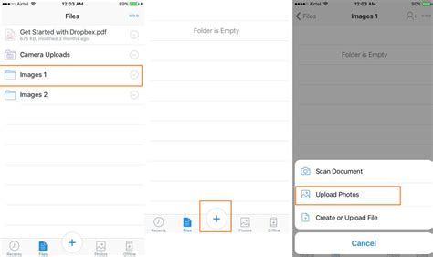 to upload photos from iphone to dropbox solutions to transfer photos from iphone