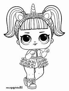 Unicorn Lol Surprise Doll Coloring Page Lol Surprise Doll Free Printable Pages Lol Coloring