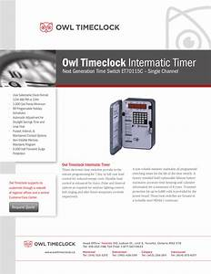 Download Free Pdf For Intermatic Et70115c Time Switches