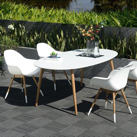 chaise plastique design best salon de jardin plastique blanc design images