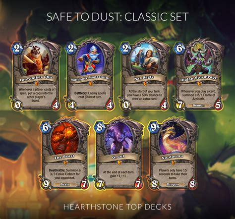 hearthstone legendaries you can safely disenchant hearthstone top decks