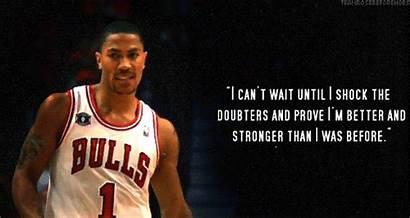 Basketball Derrick Rose Quotes Motivational Player Quotesgram