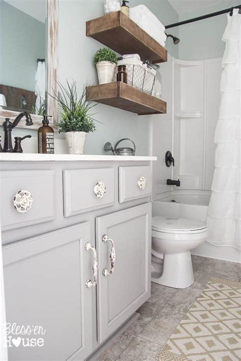 Badezimmer Modern Streichen by Modern Farmhouse Bathroom Makeover Reveal