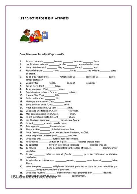 135 best fle exercices de grammaire images on pinterest