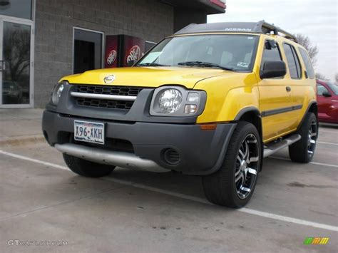 nissan yellow 2004 solar yellow nissan xterra xe 2039099 gtcarlot com