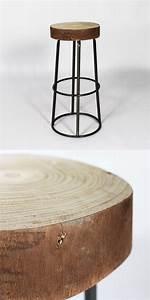 Tabouret Bois Brut : tag archived of tabouret bois brut tabouret bois metal design et markelomaha ~ Teatrodelosmanantiales.com Idées de Décoration