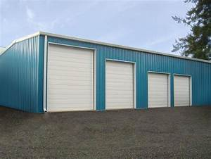 steel garage blue acvap homes great design for steel With 20x24 metal garage
