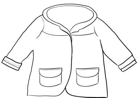 winter jacket coloring page winter board decorations