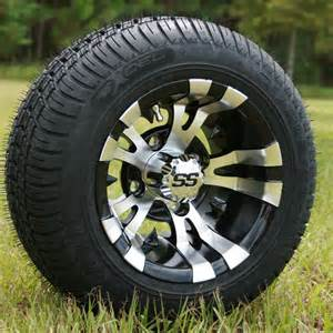 Low Profile Golf Cart Tires and Wheels