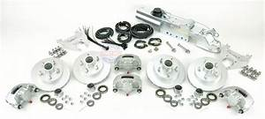 Boat Trailer Disc Brake Kit Tandem Axle Complete With
