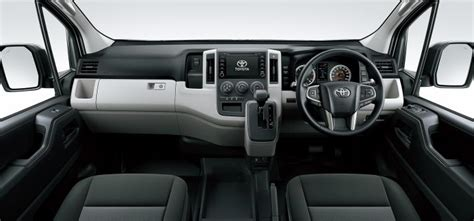 toyota hiace     seats unveiled