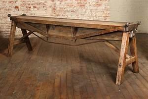 Antique Industrial Desk Antique Furniture