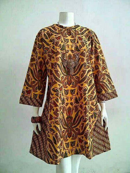 jual baju batik tunik wanita cewek pakaian formal kerja
