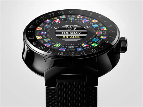 louis vuitton  debut  tambour horizon smartwatch