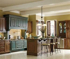 contrasting kitchen cabinets 1451