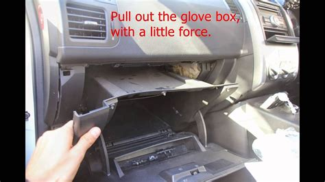 how to replace cabin filter for nissan x trail 2010