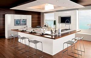 ilot de cuisine chez perene kitchen pinterest ilot With awesome meuble de cuisine ilot central 6 cuisine americaine avec ilot deco maison moderne
