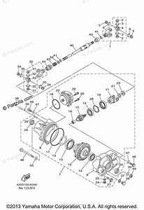 Yamaha Side By Side 2011 Oem Parts Diagram For Front
