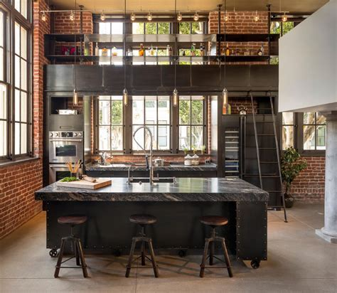 industrial style industrial brick walls with contemporary
