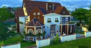 Dream Home Palace Sims 4 Houses