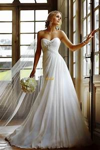 beautiful long strapless wedding dresses dresscab With strapless wedding dresses