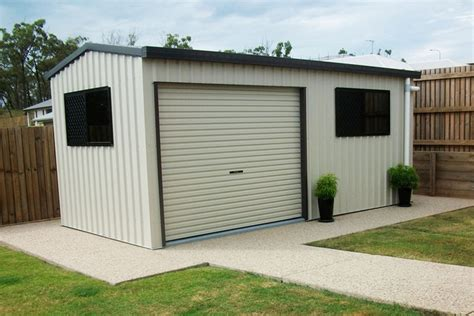 Single Garages   THE Shed Company   Call 1800 821 033