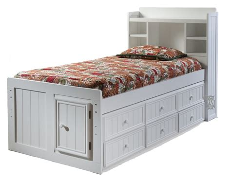 White Twin Bed With Storage Inspiration From The Stratton Bed With Drawers From Pottery Barn Table Top Storage Drawers Ikea Malm 6 Drawer Dresser White Van Organizing Wooden Slides Plans Tall Filing Inserts Narrow Pine Chest Of
