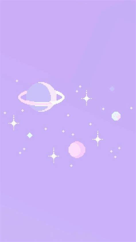ide keren wallpaper aesthetic pastel purple background