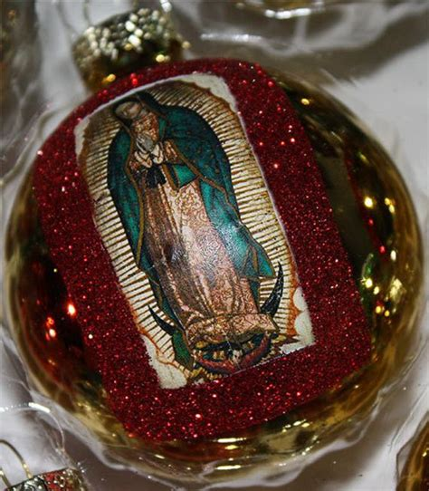 mexican christmas gifts items similar to mexican ornaments decorations virgen de guadalupe catholic